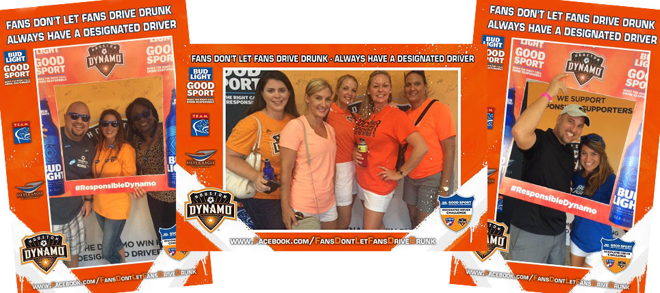 Houston Dynamo Supporters Are Good Sports