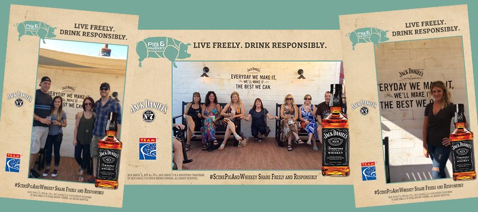 Jack Daniel's promotes responsible drinking at Pig and Whiskey 2016