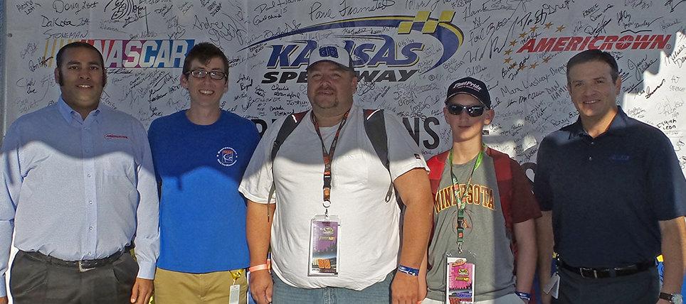 Responsible NASCAR Fans at Kansas Speedway