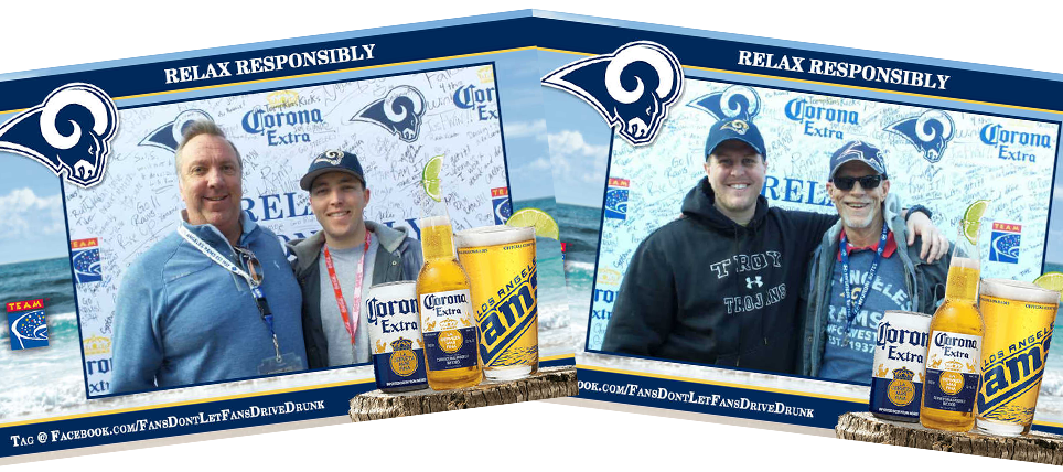 Responsible Fans Rewarded at the LA Rams game vs. 49ers