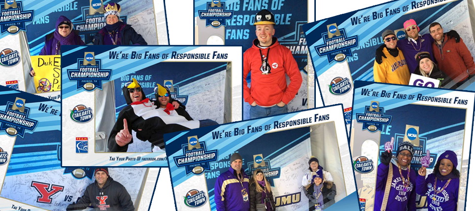 Responsible Fans at the 2017 NCAA FCS Championship
