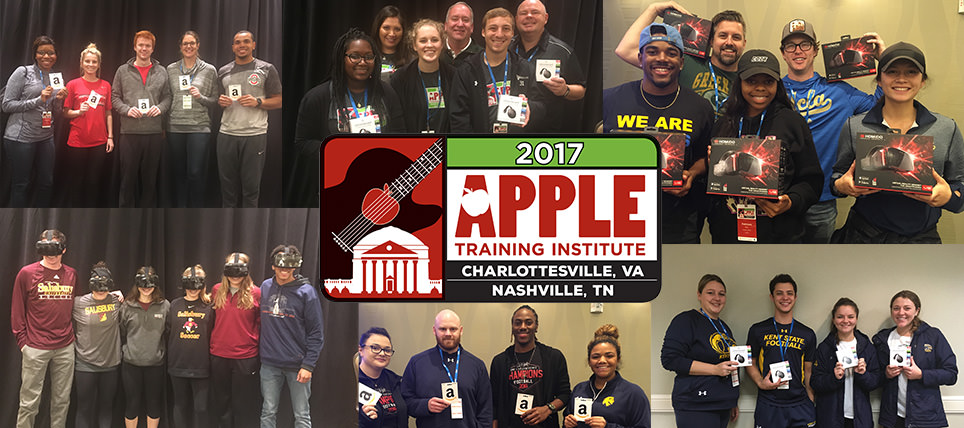 TEAM Joins NCAA and University of Virginia for 2017 APPLE Training Institute