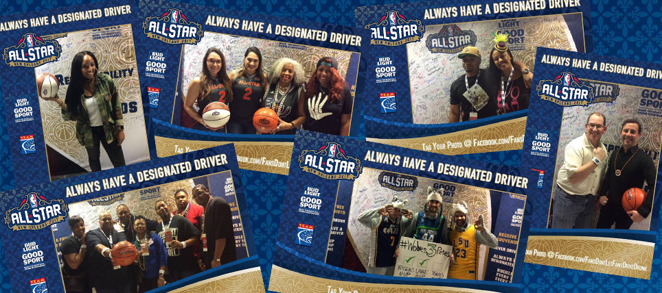NBA, Bud Light and TEAM at 2017 NBA All-Star Weekend
