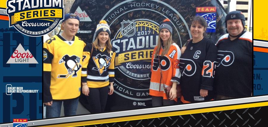 Alcohol Responsibility at 2017 Coors Light NHL Stadium Series