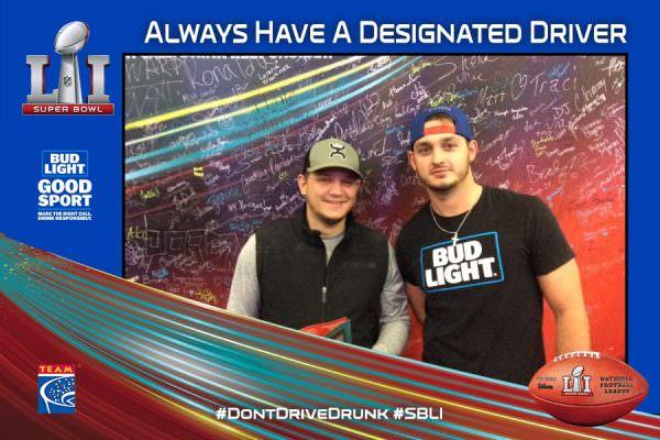 8ea2be12329 Designated Drivers Recognized at Super Bowl LI - TEAM Coalition