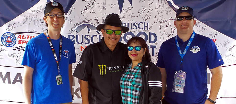 Responsible Fans Rewarded at Auto Club Speedway