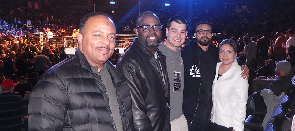 Responsible Fans Rewarded at Thurman vs. Garcia Fight