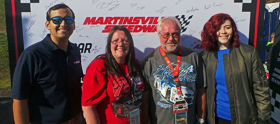 Responsible Fans Rewarded at Martinsville Speedway