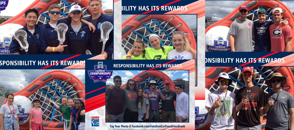 Responsible Fans at the 2017 NCAA Lacrosse Championship