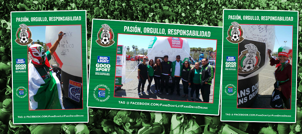 Responsible Mexico Supporters Rewarded in Los Angeles