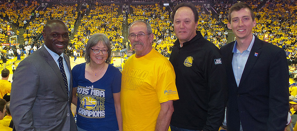 Designated Driver Recognized at NBA The Finals 2017 Game 1