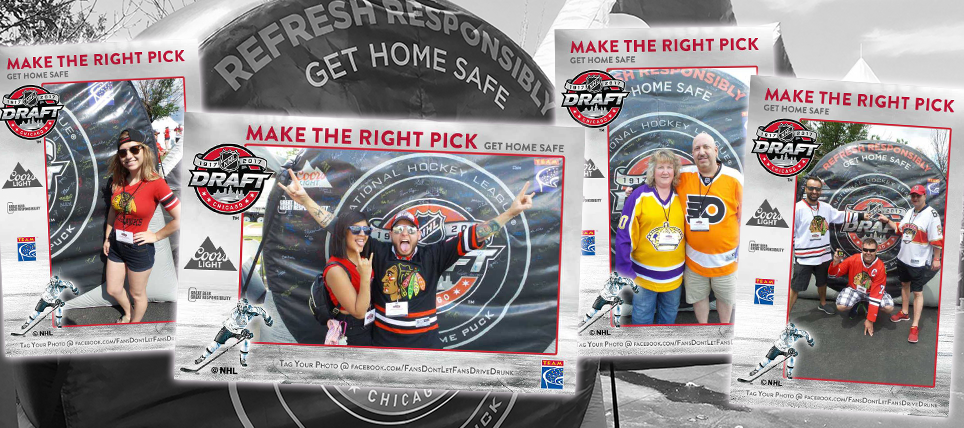 Fans Refresh Responsibly at the 2017 NHL Draft™ Fan Fest