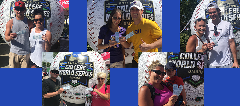 Responsible Fans at the 2017 NCAA Men's College World Series