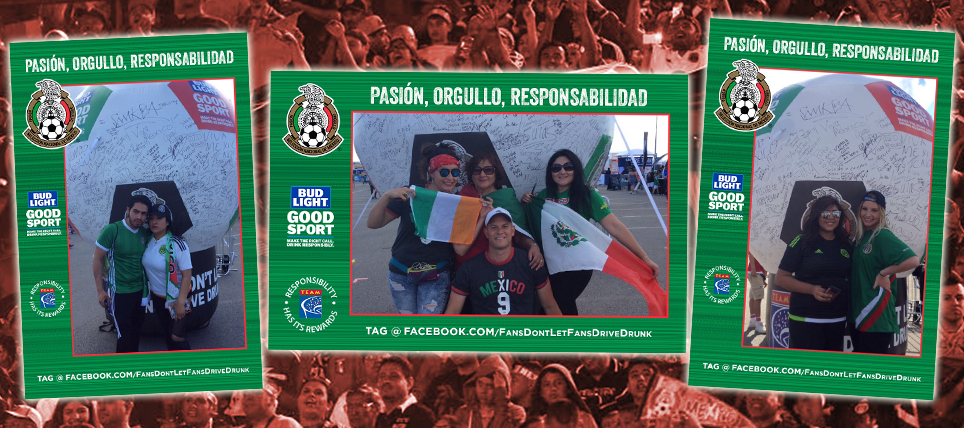 Responsible Mexico Supporters Rewarded in New Jersey