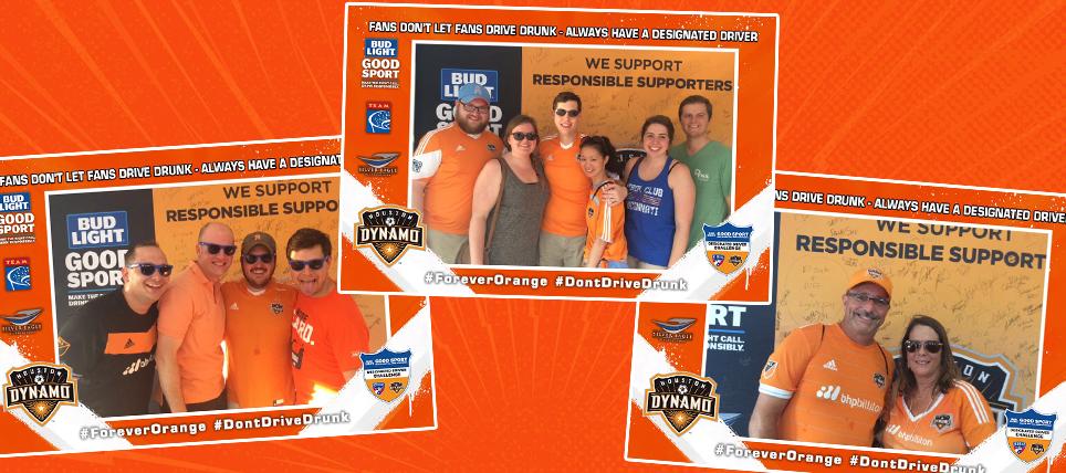 Houston Dynamo Host Bud Light Good Sport Challenge