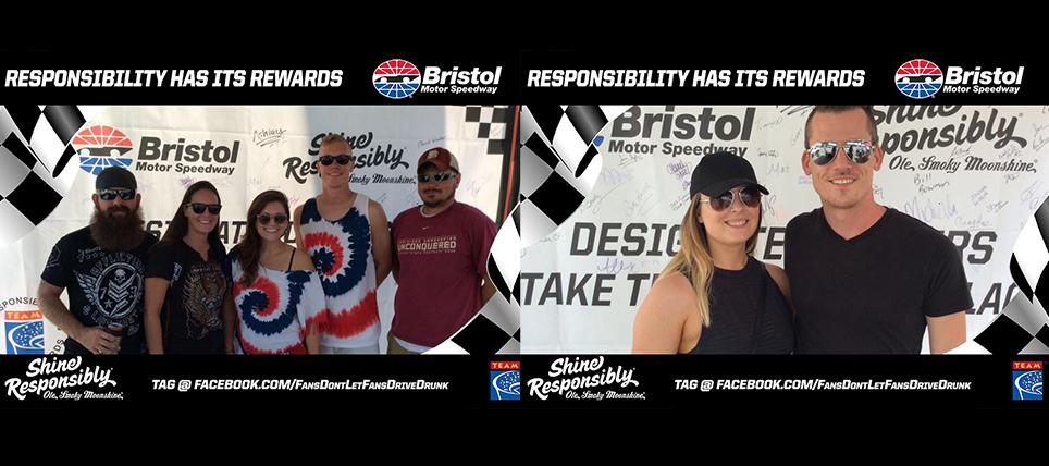 Responsible NASCAR Fans Rewarded at Bristol Motor Speedway