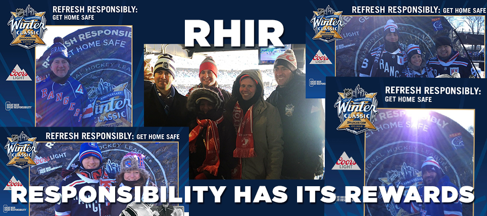 Alcohol Responsibility at 2018 Bridgestone NHL Winter Classic