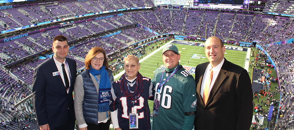 Responsible Fans Recognized at Super Bowl LII