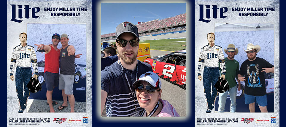 Responsible NASCAR Fans Rewarded at Dega