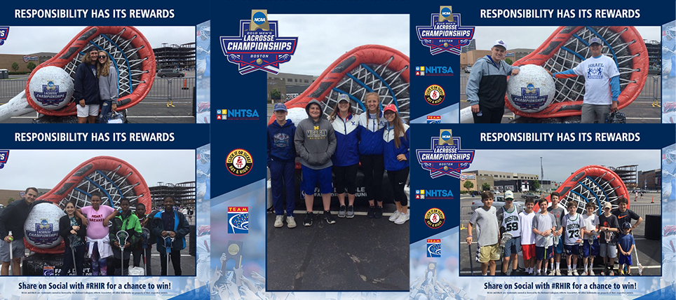 Responsible Fans at the 2018 NCAA Lacrosse Championship