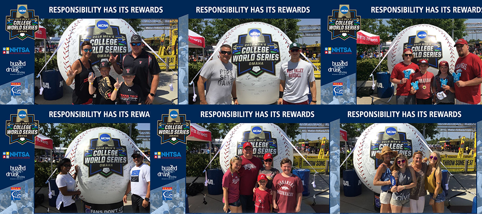 Responsible Fans at the 2018 NCAA Men's College World Series