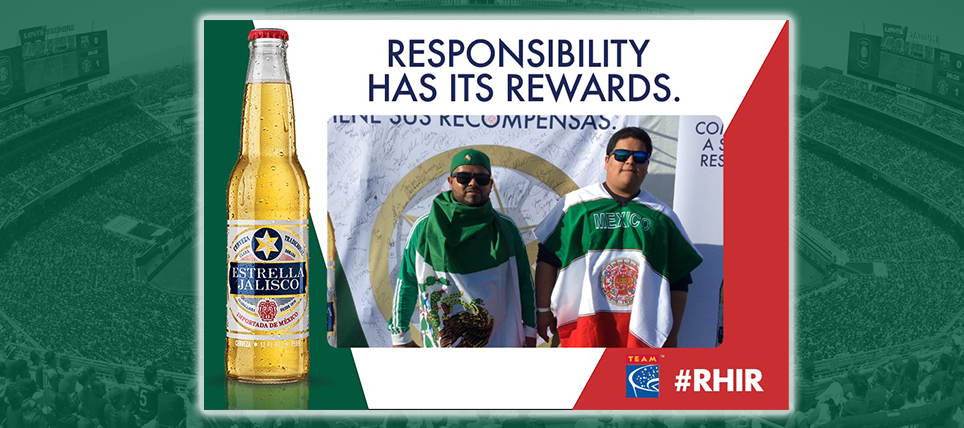 Responsible Mexico Supporters Rewarded at Levi's Stadium