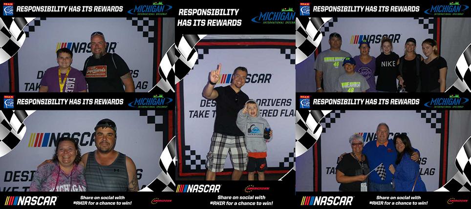 Responsible NASCAR Fans at Michigan International Speedway