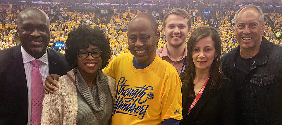 Designated Driver Recognized at Game 1 of The NBA Finals Presented by YouTube TV