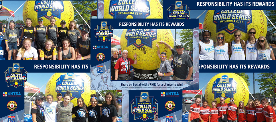 Responsible Fans at the 2018 NCAA Women's College World Series