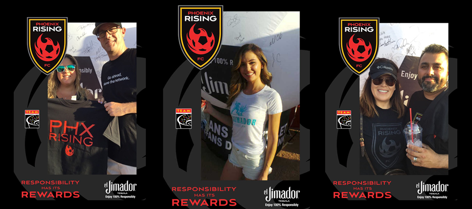 100% Responsibly, How Phoenix Rising Supporters Celebrated Win with el Jimador