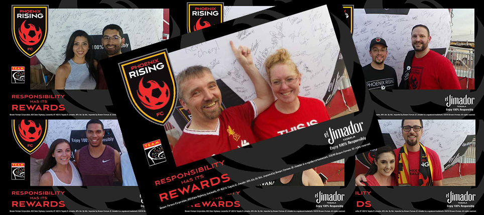 100% Responsibly, Third Responsibility Night for Phoenix Rising with el Jimador Makes Clean Sweep