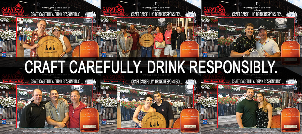 Saratoga Race Fans Celebrate Responsibly with Woodford Reserve