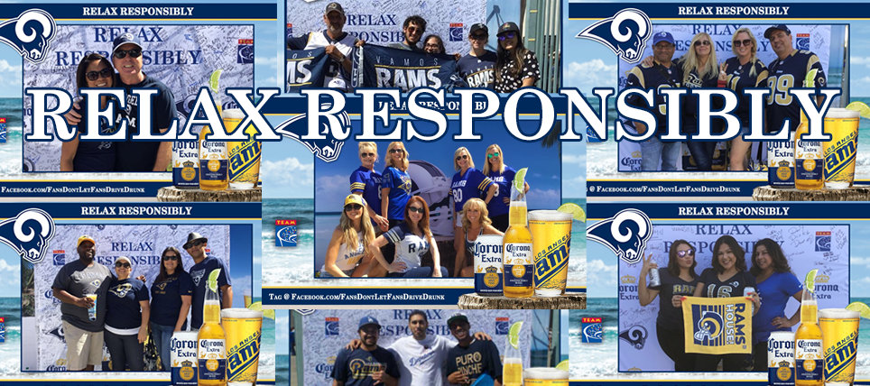 Rams, Corona Extra & TEAM Thank Fans Who Relax Responsibly