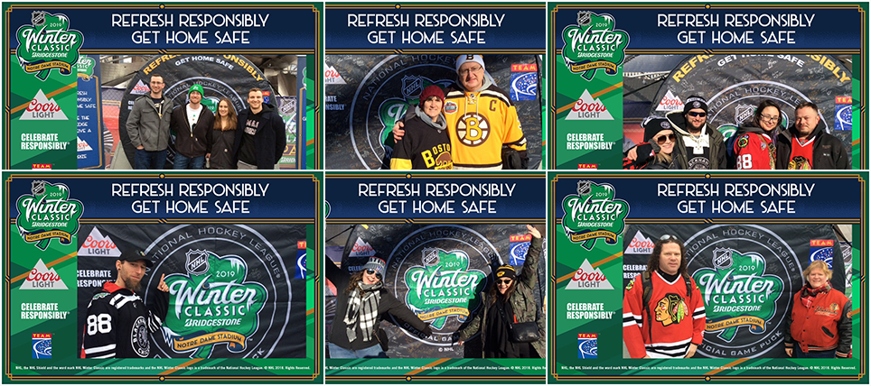 Fans Refreshed Responsibly at 2019 Bridgestone NHL Winter Classic