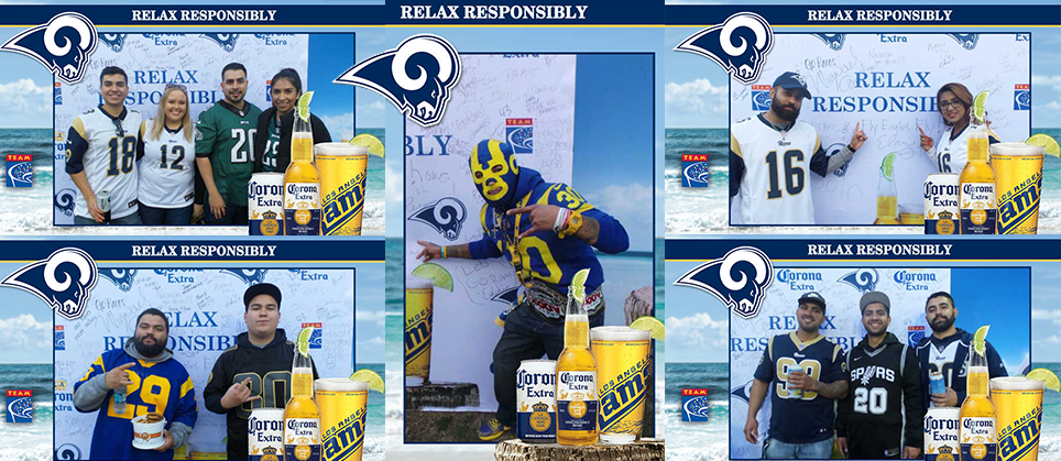 Rams Fans Who Relax Responsibly Rewarded by Corona Extra and TEAM Coalition