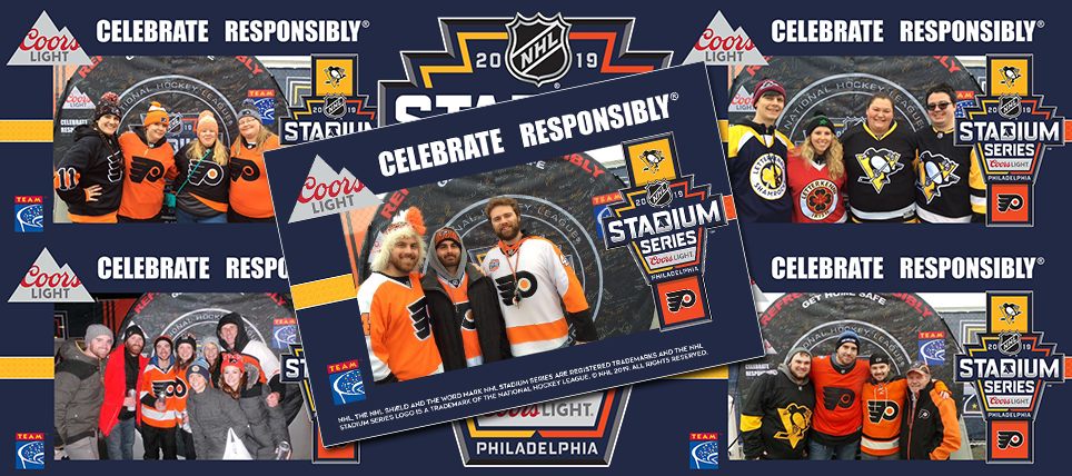Responsibility Has Its Rewards at the 2019 Coors Light NHL® Stadium Series