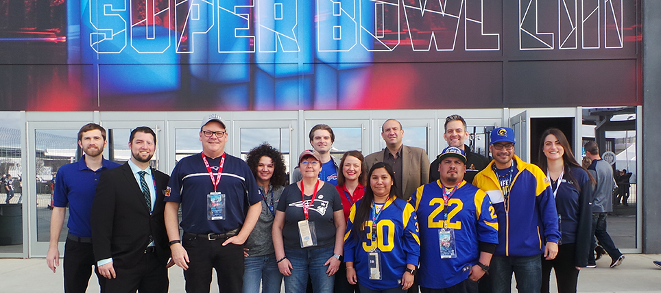 Responsible Fans Recognized at Super Bowl LIII
