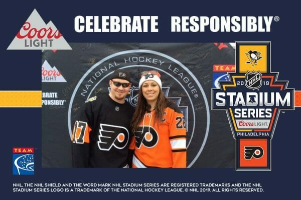 Responsibility Has Its Rewards at the 2019 Coors Light NHL® Stadium