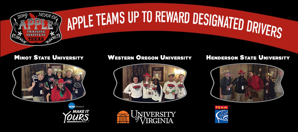 TEAM Joins NCAA and UVA for 2019 DII APPLE Training Institute