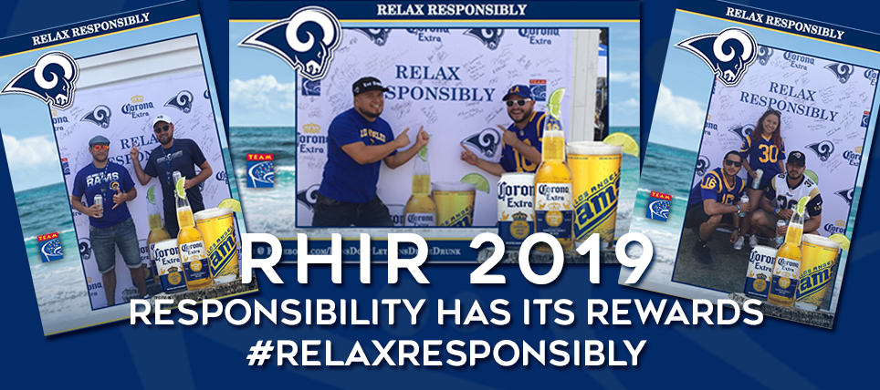 Rams Fans Who Relax Responsibly Rewarded