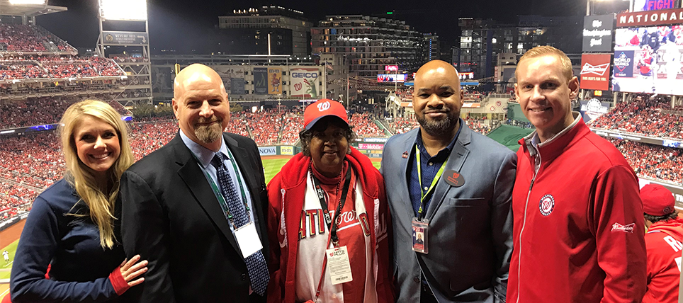 MLB, Budweiser and TEAM Coalition Reward Responsible Fan at the 2019 World Series Game 3
