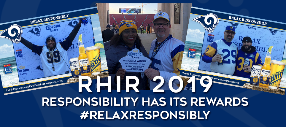 Relax Responsibly Pledge Earns Rams Fans Great Rewards