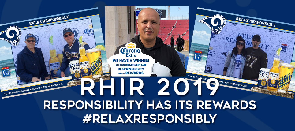 Rams Fans Close Out Season By Pledging to Relax Responsibly